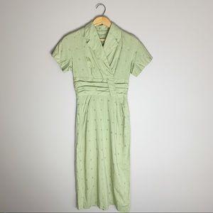 50s / 60s vintage house dress
